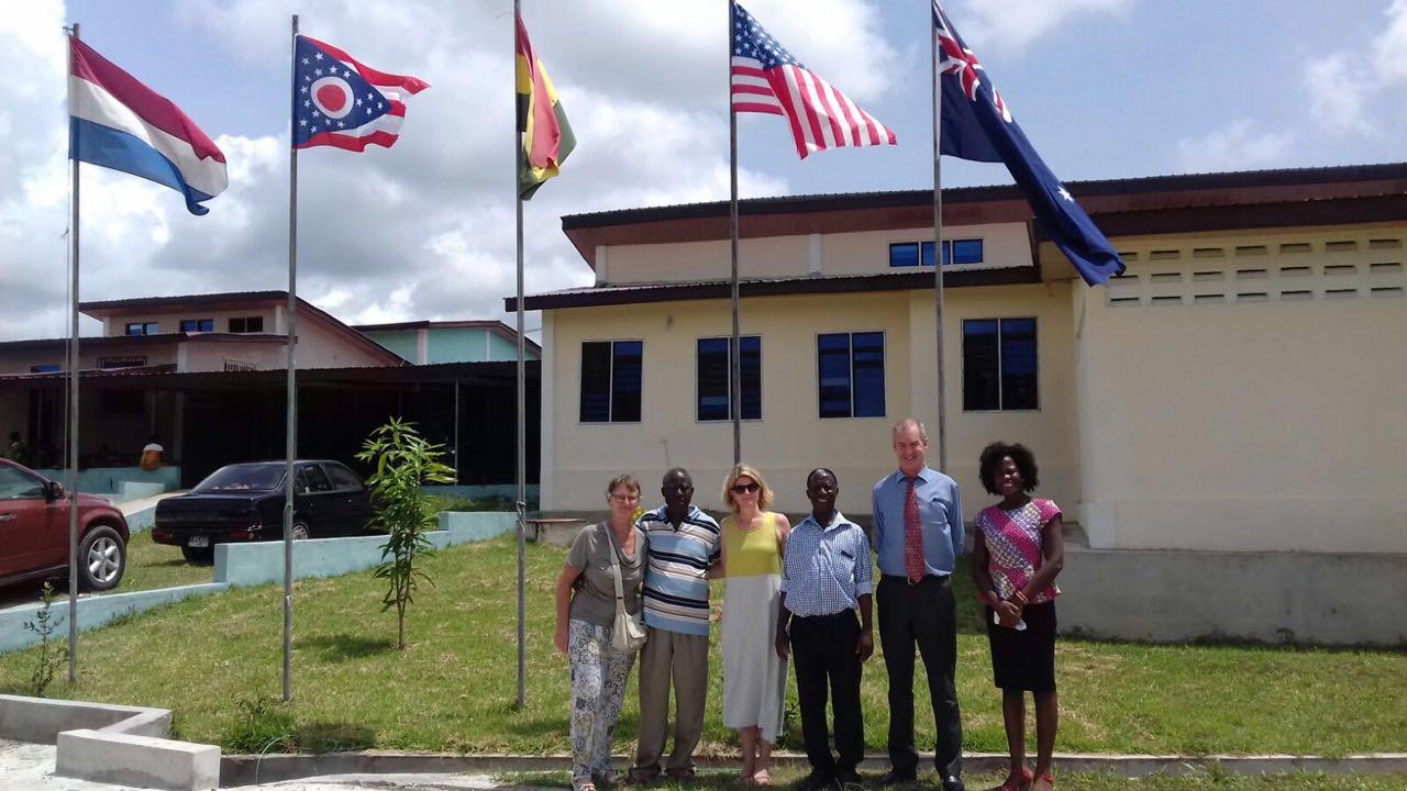 Ghana Hospital opens for business